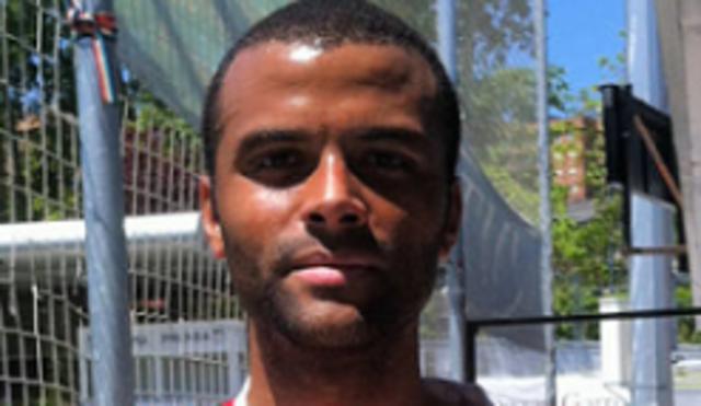 El CEO del RCD Mallorca durante su época de futbolista