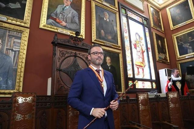 José Hila, nuevo alcalde de Palma (Foto: Twitter)