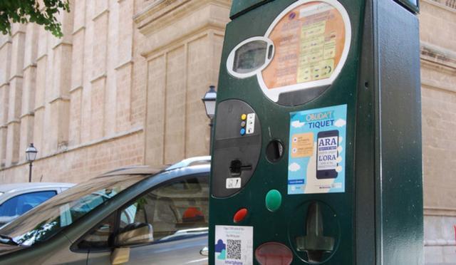 Una máquina de la ORA (Foto: orapalma.es)