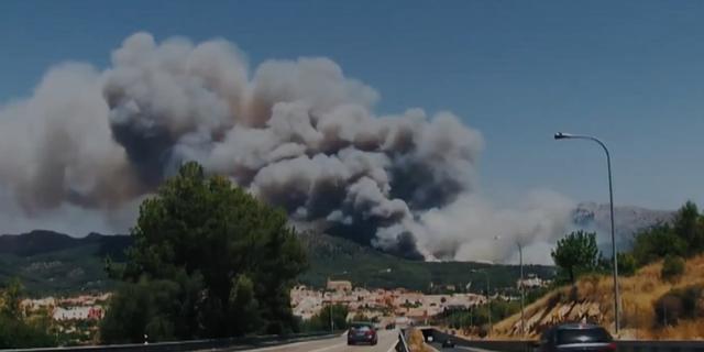 Imagen del brutal incendio que tuvo lugar en 2013