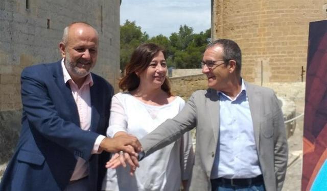 Ensenyat, Armengol e Yllanes firman el acuerdo de gobernabilidad para el Govern
