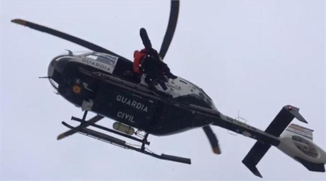 El ciclista ha tenido que ser rescatado en helicóptero (Foto: Archivo)