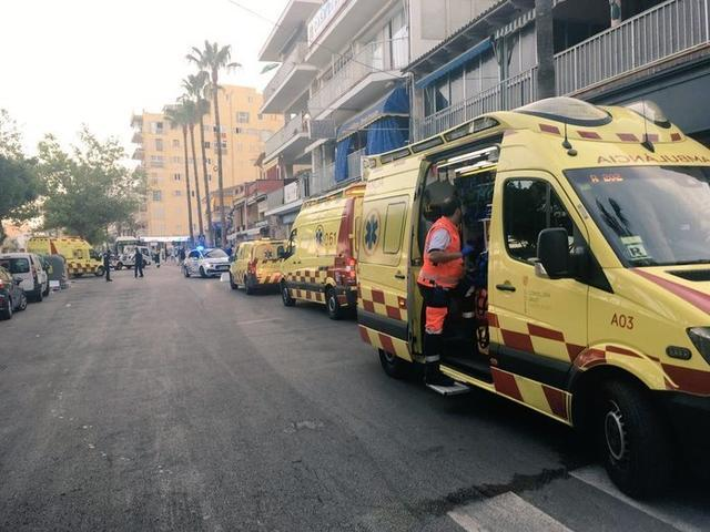 Unas 600 personas han sido evacuadas (Foto: SAMU061)