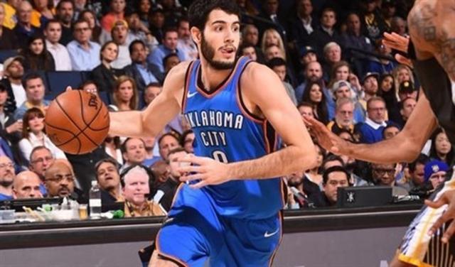 El mallorquín Álex Abrines durante su periplo en la NBA (Foto: EP)