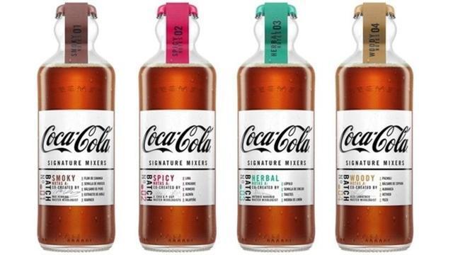 Coca-Cola lanza 'signature mixers' en España para inspirar nuevos combinados con diferentes destilados