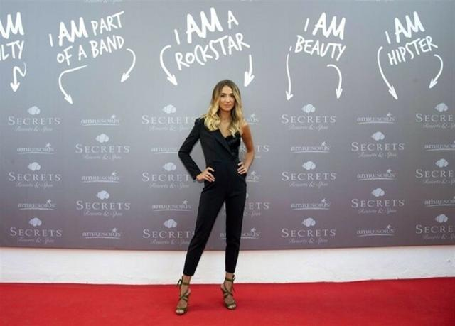 La modelo e influencer italiana Alice Campello