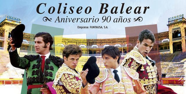 Morante de la Puebla, El Juli, José María Manzanares y Roca Rey forman el cartel de la corrida que se celebrará en la Plaza de Toros de Ciutat