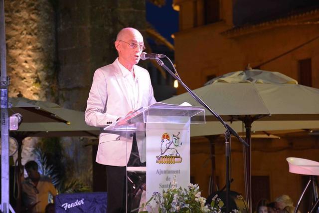 Cristòfol Miquel Sbert fue el encargado de la lectura del pregón de este año.