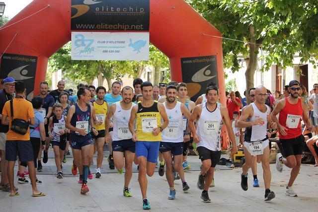 La carrera popular congregó a corredores de todas las edades y categorías. Foto: Elitechip