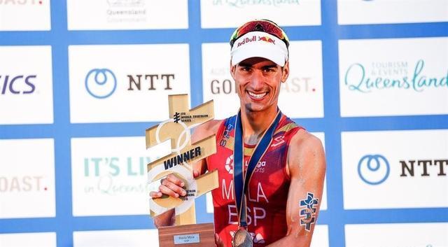 El tricampeón del mundo Mario Mola