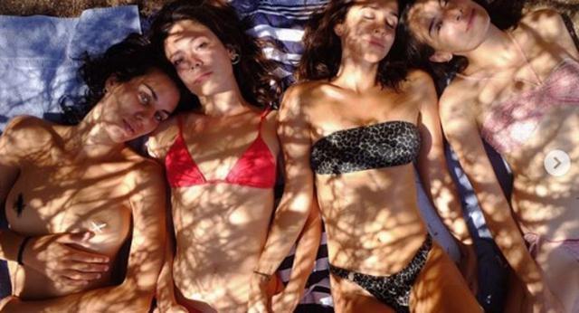 Las cuatro actrices disfrutan de sus vacaciones en la Isla (Foto: Instagram)