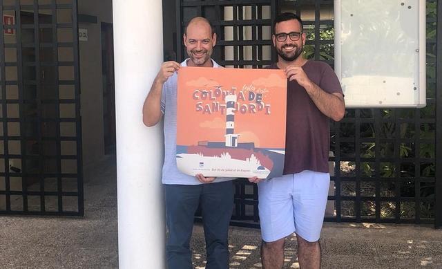 El alcalde, Juan Rodríguez y el regidor de Fiestas, Guillem Mas, presentaron las Festes d'Estiu 2019.