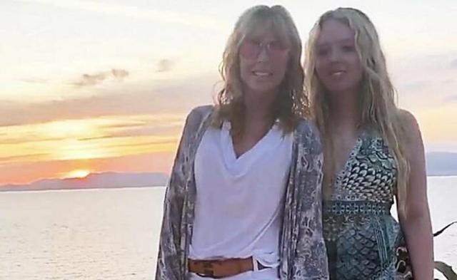 Madre y hija, este martes en Mallorca (Foto: Instagram)