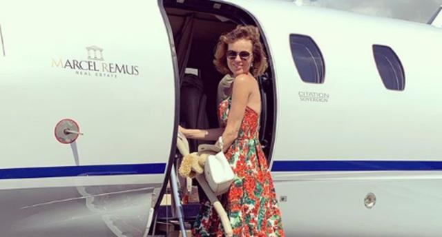 La modelo y actriz checa disfruta de unos días en Mallorca (Foto: Instagram)
