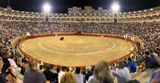 Imagen de la Plaza Toros de Palma, el pasado viernes (Foto: Coliseo Balear)