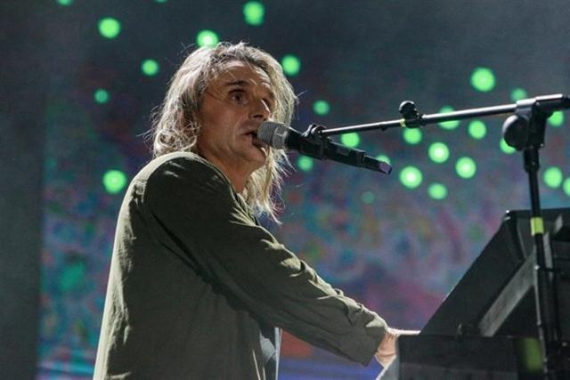 Nacho Cano durante su actuación