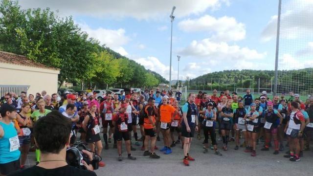 Participantes de la Trapa Trail (Foto: Ayuntamiento de Andratx)