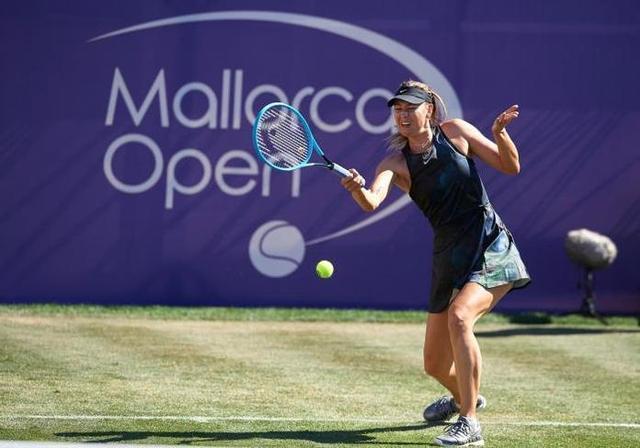 Maria Sharapova en el Mallorca Open del pasado mes de julio