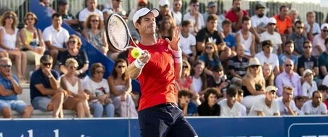 Andy Murray en Manacor (Foto: Rafa Nadal Sports Centre)