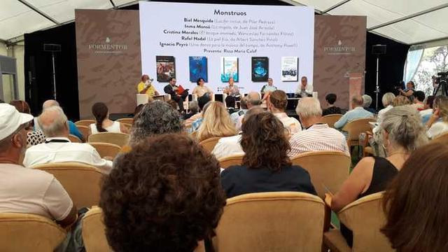 Cerca de 700 asistentes han acudido a la XII edición de las Converses Literàries de Formentor