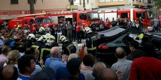 Los Bombers de Mallorca han causado sensación en Inca (Foto: Consell de Mallorca)