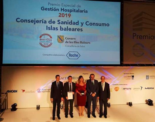 Los ganadores y finalistas forman parte de la Guía de los Mejores Hospitales y Servicios Sanitarios (Foto: Conselleria Salut i Consum)