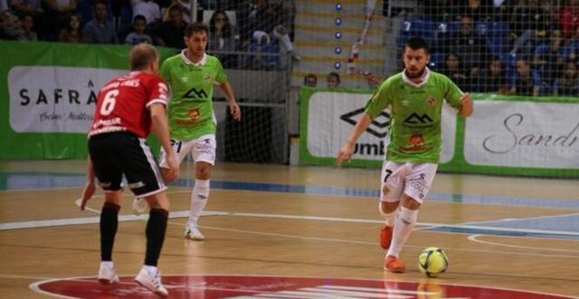 Los mallorquines han logrado un importante triunfo (Foto: Palma Futsal)