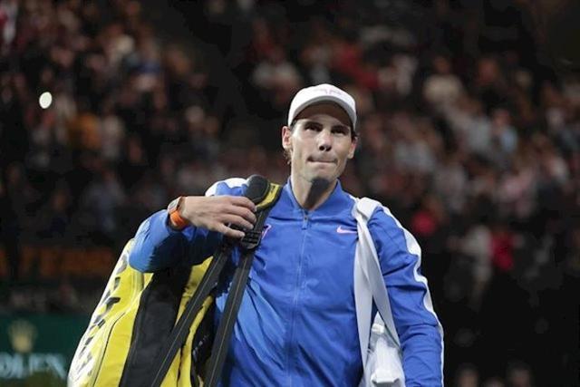El tenista mallorquín Rafa Nadal