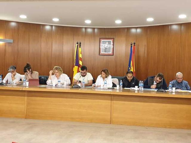 Pleno ordinario de la Junta de Distrito celebrado este miércoles (Foto: Ajuntament de Ses Salines)
