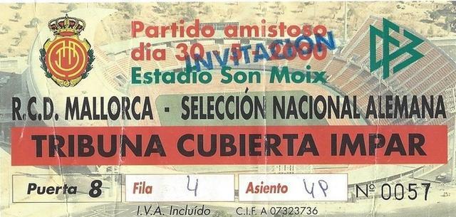 Entrada del amistoso (Foto: Archivo Familia Jaume)