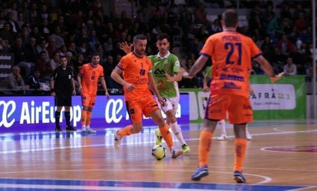 Los verde pistacho han malgastado múltiples ocasiones (Foto: Palma Futsal)