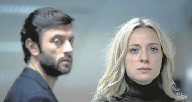 Javier Rey y Ángela Cremonte, en 'Mentiras'