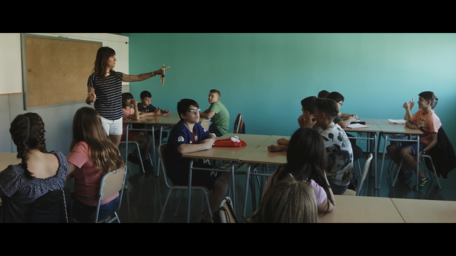 """Fotograma de la película """"Picotazos en el cristal"""""""