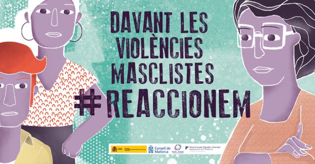 Campaña del Consell de Mallorca de sensibilización con motivo del próximo 25 de noviembre, Día Internacional de la Eliminación de la Violencia contra las Mujeres