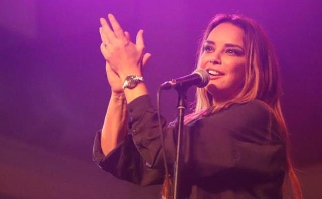 Chenoa durante su concierto en Valladolid