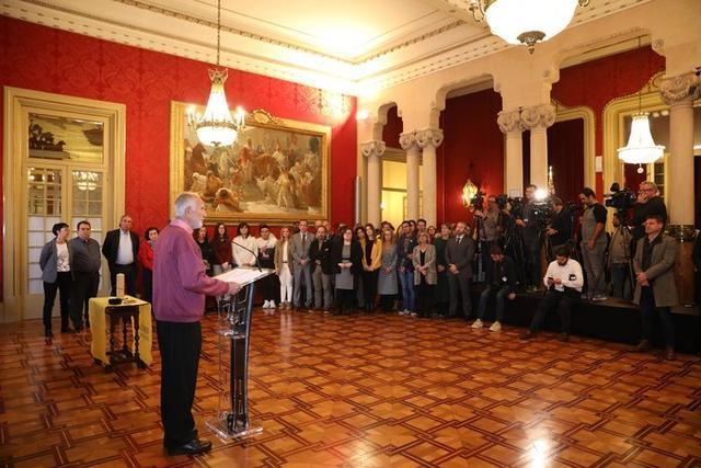 El acto ha sido organizado por Amnistía Internacional de Baleares (Foto: Parlament Illes Balears)