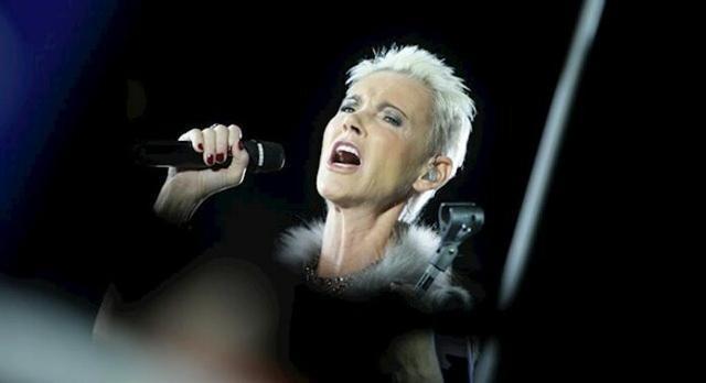 Marie Fredriksson, la vocalista del grupo musical Roxette