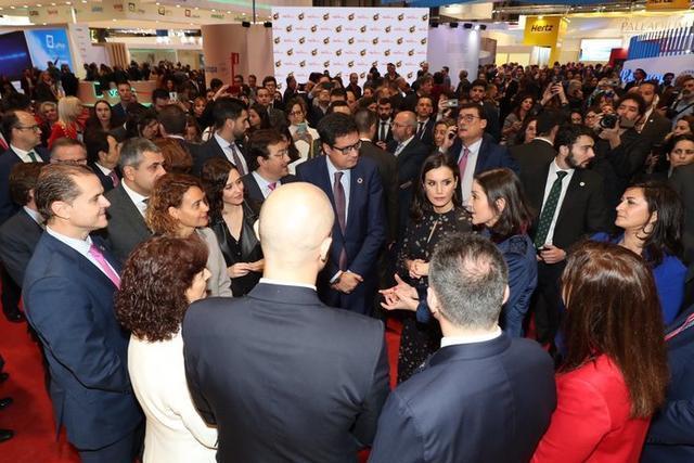 La Reina preside la inauguración de la cuadragésima edición de la Feria Internacional de Turismo-FITUR (Foto: @CasaReal )
