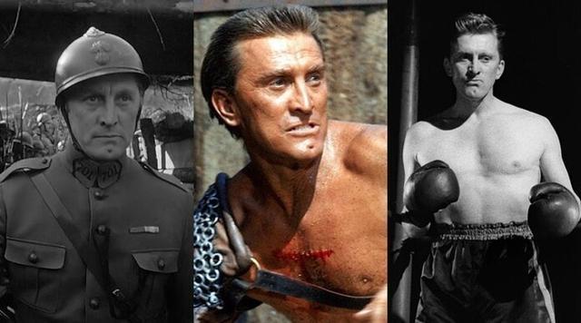 La leyenda de Hollywood, Kirk Douglas