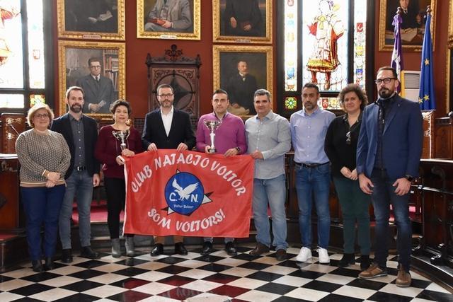 El evento deportivo ha sido presentado por el alcalde de la capital, José Hila, en el salón de Plenos del Ajuntament, acompañado por una representación de la organización y la corporación municipal (Foto: IME Palma)