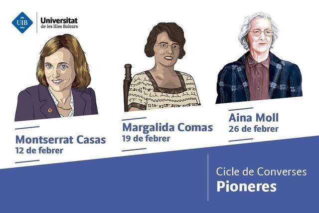Tres librerías de Palma acogen durante este mes de febrero el ciclo 'Pioneras' (Foto: UIB)