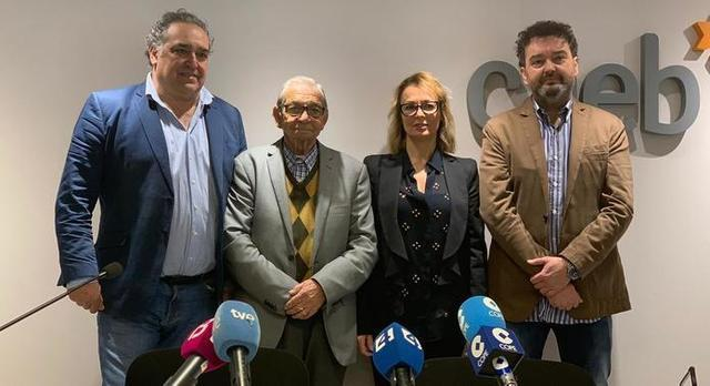 Los cuatro representantes de las entidades