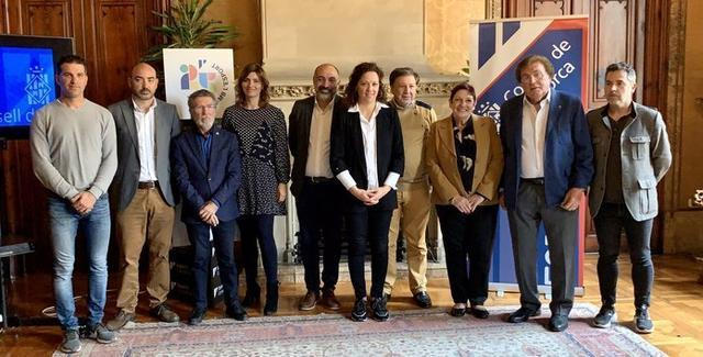 Imagen del acto de presentación (Foto: Consell de Mallorca)