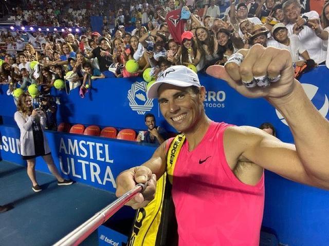Rafa Nadal comienza firme en Acapulco y no da opciones a Pablo Andújar (Foto: @ATPTour_ES)