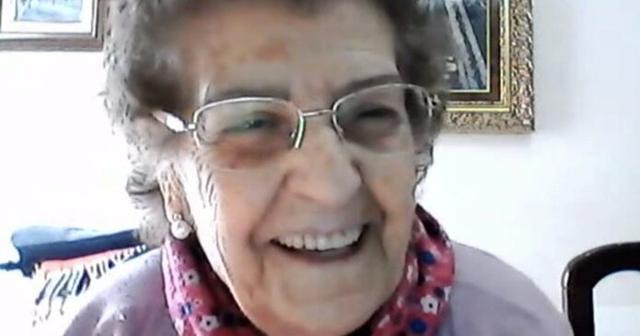 Margarita Gil durante una de sus intervenciones en 'Todo es mentira'