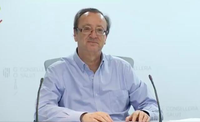 El portavoz del Comité Autonómico de Gestión de Enfermedades Infecciosas de Baleares, Francesc Albertí