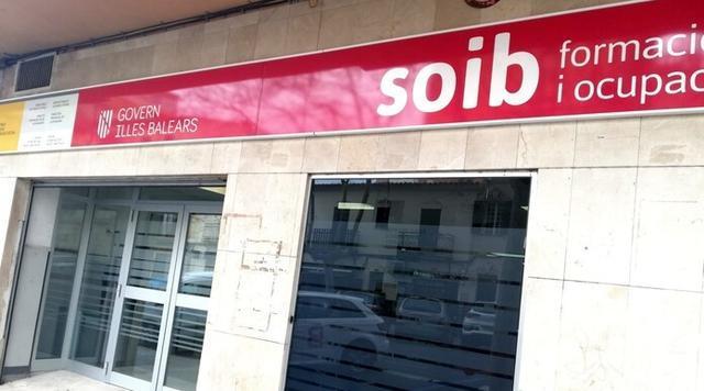Oficina del SOIB en la calle Miquel Marqués de Palma
